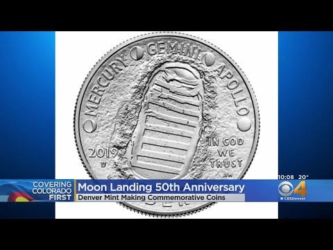 BEARDO - Denver Mint Celebrates Moon Landing With Unique Coins