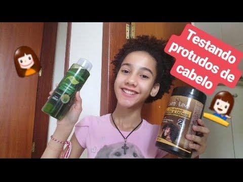 TESTANDO PRODUTOS DE CABELO | Tok Bothânico / Livre & Leve - Amanda Vitoria