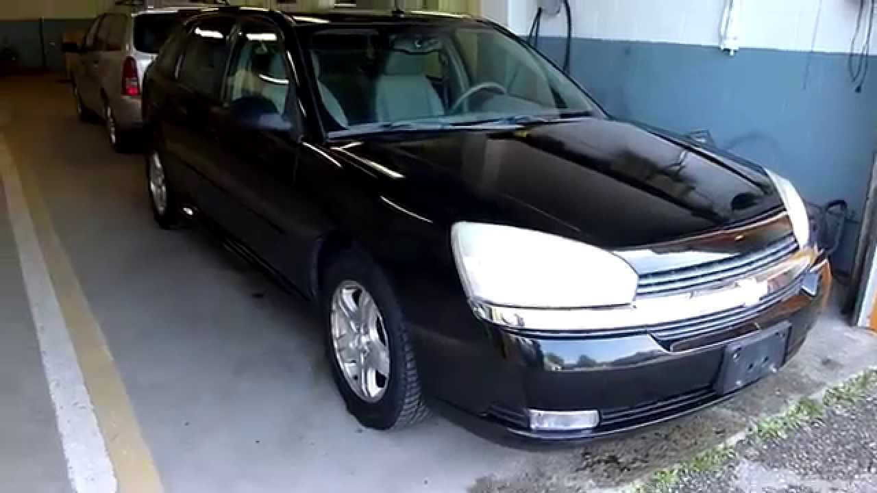 2004 Chevy malibu Maxx LT Black  YouTube