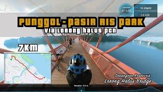 7KM Punggol Waterway To Pasir Ris Park Via Lorong Halus PCN   Cycling Singapore