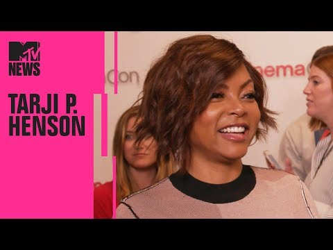 Taraji P. Henson on 'What Men Want' & How It Differs From 'What Women Want'  CinemaCon  MTV
