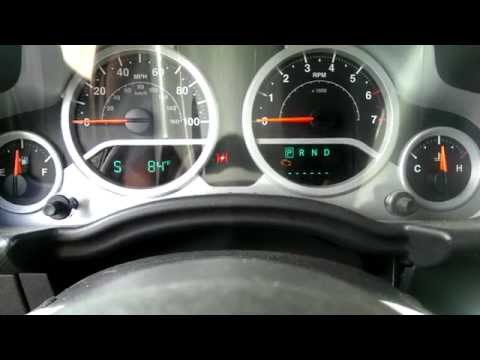 retrieving jeep diagnostic error codes