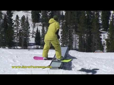 How to Snowboard Tricks: Boardslide a Funbox