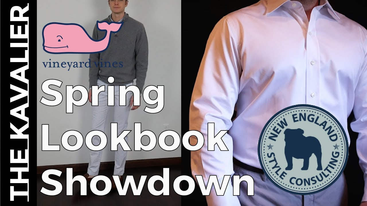 Vineyard Vines Spring Lookbook Challenge with New England Style Consulting 2