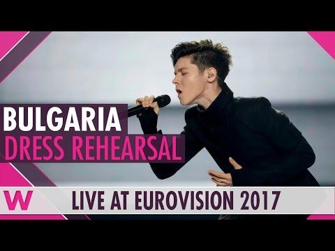 "Bulgaria: Kristian Kostov ""Beautiful Mess"" semi-final 2 dress rehearsal @ Eurovision 2017"