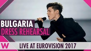 "Bulgaria: Kristian Kostov ""Beautiful Mess"" semi-final 2 dress rehearsal @ Eurovision 2017"