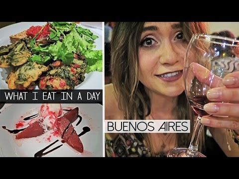 What I Eat In A Day | BUENOS AIRES, ARGENTINA