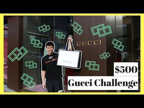 BẠN CÓ THỂ MUA GÌ VỚI $500 Ở GUCCI? ($500 GUCCI CHALLENGE)