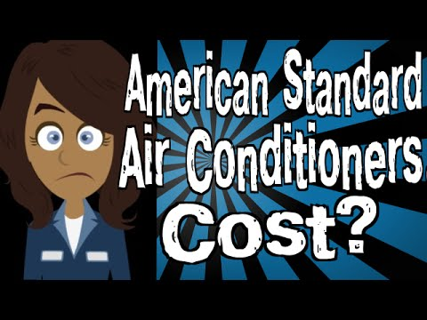 American Standard New Air Conditioner And Evaporator Coil