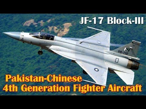 Pakistani-Chinese JF-17 Fighter Jet's Block III Design Finalized