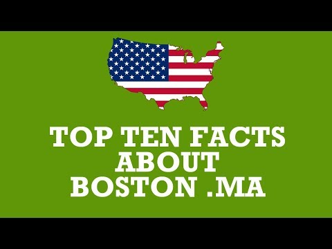 top ten facts about boston Massachusetts