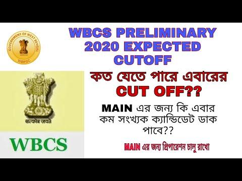 Wbcs Preliminary Expected Cutoff 2020   