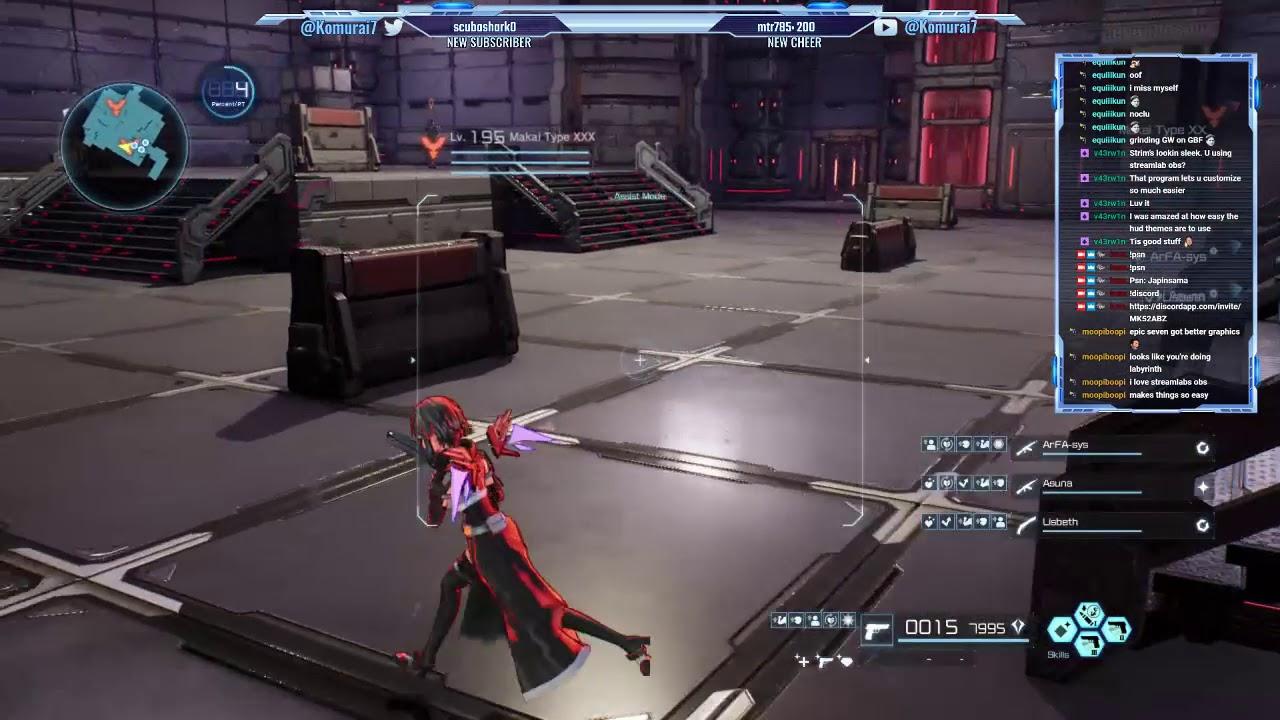 SAO Fatal Bullet Grind   AMR Grim Reaper Sniper Farming