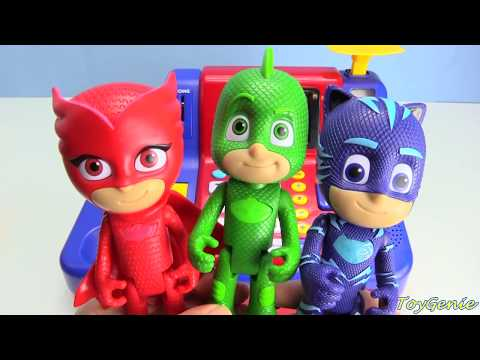 PJ Masks Shopping Learn Money Toy Cash Register LOL Surprise Ultra Rare Find