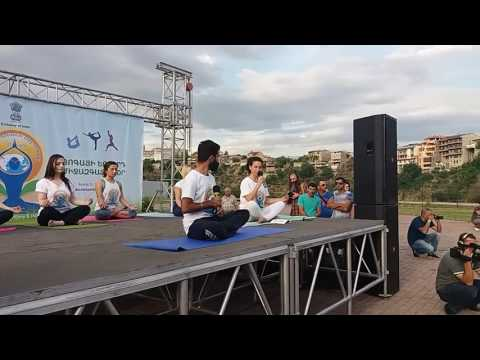 By NEWS.am STYLE. International Yoga Day In Yerevan