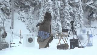 Bear Does Laundry - Samsung Washing Machine Commercial (funny)