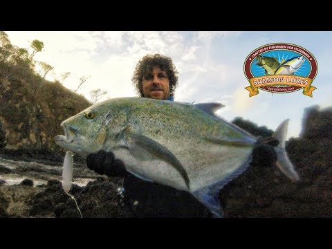Central America Shore Fishing Adventure👉 Lure Fishing (Part 1)