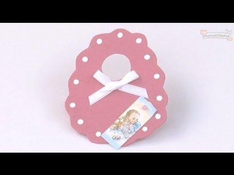Souvenir de babero en foami - YouTube