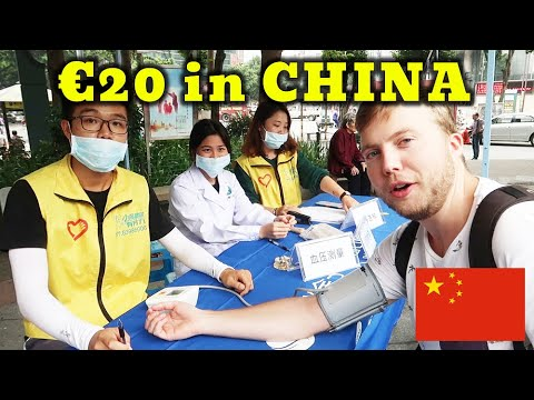 20 Euro in China, what can you get?! | Foshan, Guangdong