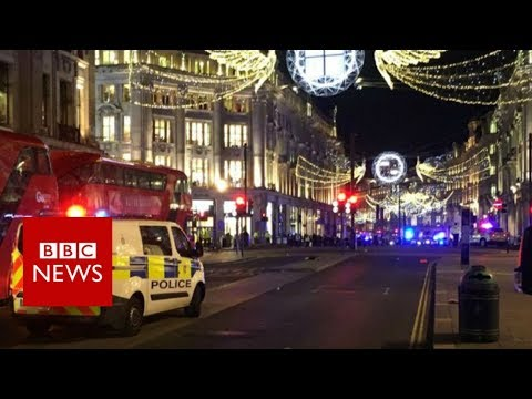 Thumbnail: Oxford Circus Incident: One woman injured, say police - BBC News