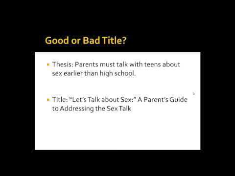 What Makes a Good Paper Title?