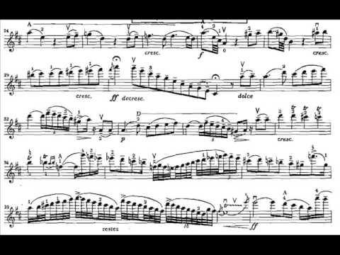 Paganini, Niccolo violinc.1 mvt2 Adagio espressivo