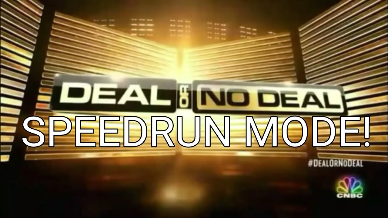 Download Deal: SPEEDRUN MODE! Ep. 4: Carmen Gant's game in 1:55 (w/S5 cues, remake of first episode)