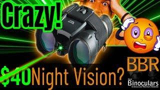 Cheap Night Vision - Atomic Beam Night Hero Binoculars Review