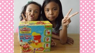 MAINAN ANAK ♥ FUN DOH ICE CREAM FACTORY | KIDS TOYS
