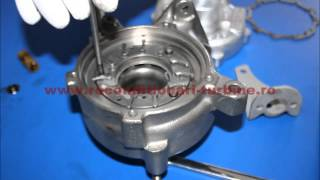 How to rebuild / repair a turbocharger  step by step