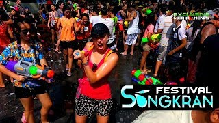 The Best Songkran Festival in Thailand Promo 2020