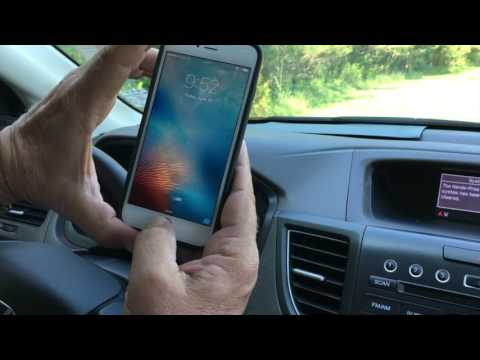 Honda CR-V How to Pair a new iPhone to a 2012 Honda CR-V and Newer