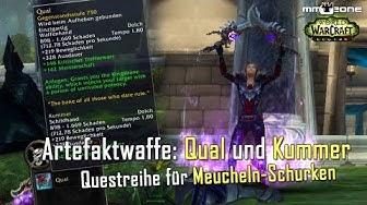 Meucheln-Schurke Artefaktwaffen Questreihe (Kummer & Qual)