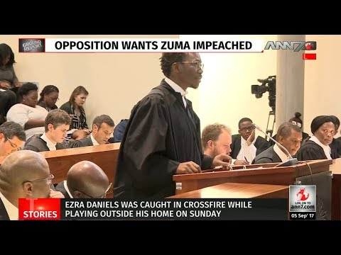 ConCourt hears impeachment case against President Zuma| Adv Ngcukaitobi for EFF