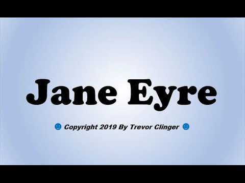 How To Pronounce Jane Eyre - 동영상