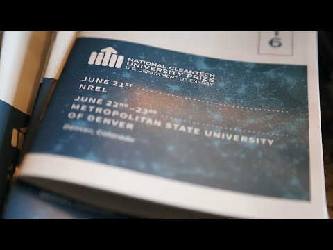 2016 Cleantech University Prize