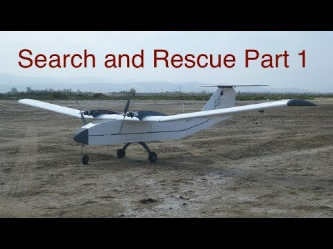 UAV Search and Rescue Demo - part 1 (search) Gemini V-2