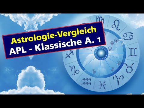 Übereinstimmung mit der Astrologie-Software