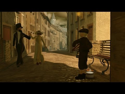 Pfaffenthal. Luxembourg,  1867 (Second Life machinima)
