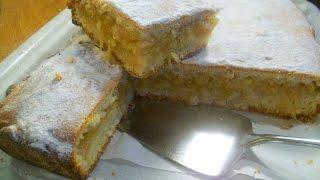Пирог яблочно-лимонный сказочно вкусный