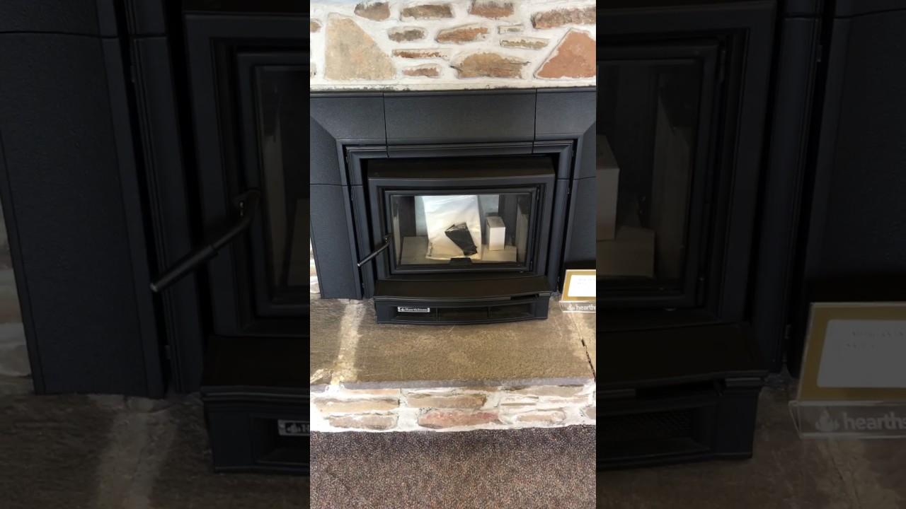 hearthstone morgan fireplace insert youtube