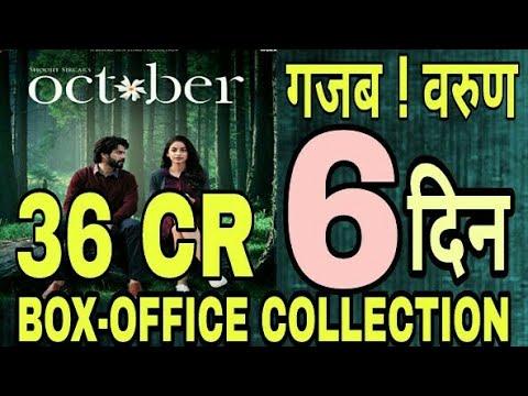 वाह ! वरुण गजब ' October ' 6th Day Collection Prediction   Varun Dhawan