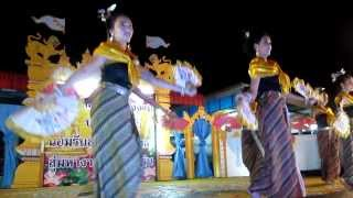 Cotton Festival Phrao, Thailand - Chinese Fan Dance