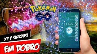 Evento XP + Stardust em Dobro Confirmado no Pokémon GO