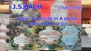 [DTM] Violin Concerto No.1 in A minor BWV1041 (J.S.Bach)