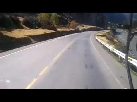 Carretera central del Perú una ruta muy hermoso pero Peligroso.