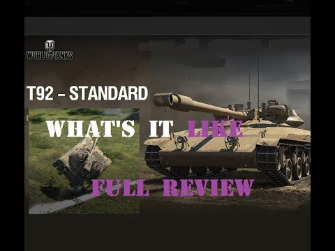Gaming Bear Reviews T92 Tier VIII Light American Tank Wargaming Christmas