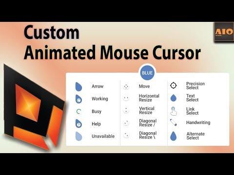 Animated Mouse Pointers For Windows 10 Free Download