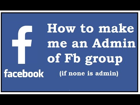How To Make Me An Admin Of Any Facebook Group (If none is Admin) | Hindi