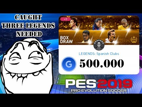 ✪ Pack Openning ✪ LEGENDS ✪ Spanish ✪ Clubs ✪ PES 2019 Mobile ✪